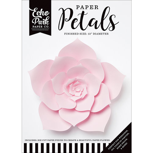Echo Park - Paper Petals - Dahlia - Large - Light Pink