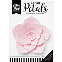 Echo Park - Paper Petals - Dahlia - Large - Light Pink