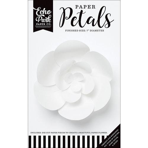 Echo Park - Paper Petals - Peony - Small - White