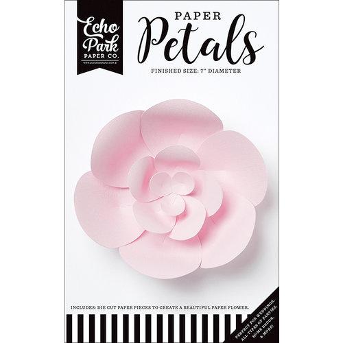 Echo Park - Paper Petals - Peony - Small - Light Pink