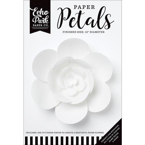 Echo Park - Paper Petals - Peony - Medium - White