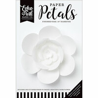 Echo Park - Paper Petals - Peony - Medium - White