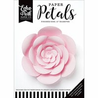 Echo Park - Paper Petals - Peony - Large - Light Pink