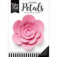 Echo Park - Paper Petals - Peony - Large - Pink
