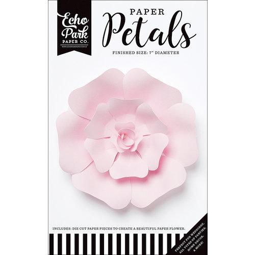 Echo Park - Paper Petals - Rose - Small - Light Pink