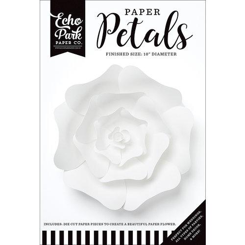 Echo Park - Paper Petals - Rose - Medium - White