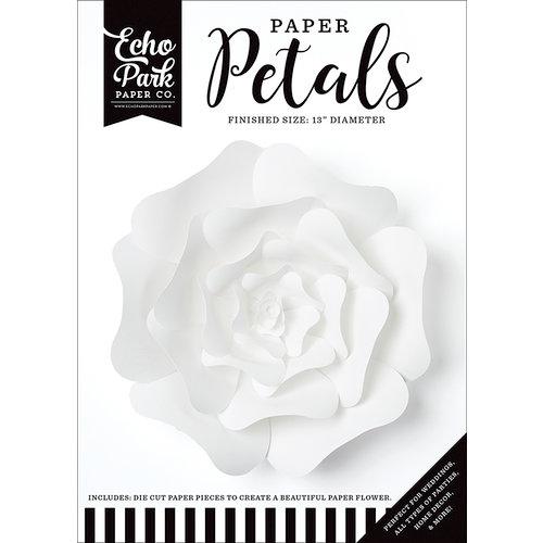 Echo Park - Paper Petals - Rose - Large - White