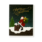 Echo Park - Greeting Card - Christmas - Santa