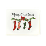 Echo Park - Greeting Card - Christmas - Stockings