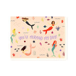 Echo Park - Greeting Card - Thank You - Mermaid