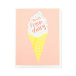Echo Park - Greeting Card - Snarky - Ice Cream Cone