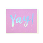 Echo Park - Greeting Card - Snarky - Yay