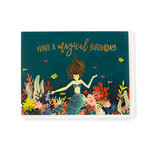 Echo Park - Greeting Card - Birthday - Mermaid