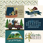 Echo Park - Adventure Awaits Collection - 12 x 12 Double Sided Paper - 4 x 6 Journaling Cards