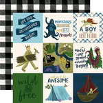 Echo Park - Adventure Awaits Collection - 12 x 12 Double Sided Paper - 4 x 4 Journaling Cards