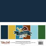 Echo Park - Adventure Awaits Collection - 12 x 12 Paper Pack - Solids