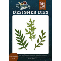 Echo Park - Adventure Awaits Collection - Designer Dies - Forest Branches