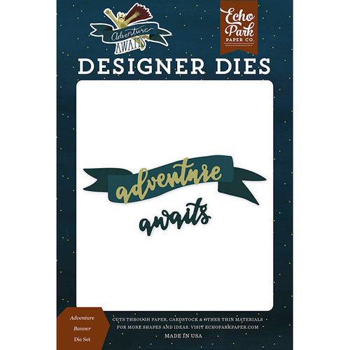 Echo Park - Adventure Awaits Collection - Designer Dies - Adventure Banner