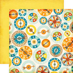 Echo Park - All About a Boy - 12 x 12 Double Sided Paper - Games