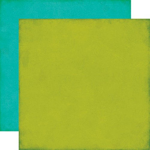 Echo Park - All About a Boy - 12 x 12 Double Sided Paper - Green