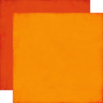 Echo Park - All About a Boy - 12 x 12 Double Sided Paper - Orange