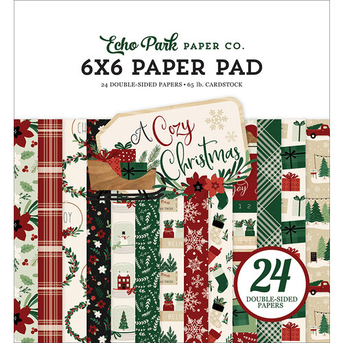 Echo Park - A Cozy Christmas Collection - 6 x 6 Paper Pad