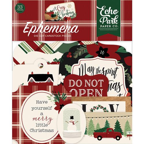 Echo Park - A Cozy Christmas Collection - Ephemera