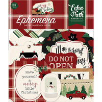 Echo Park - A Cozy Christmas Collection - Ephemera
