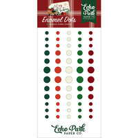 Echo Park - A Cozy Christmas Collection - Enamel Dots