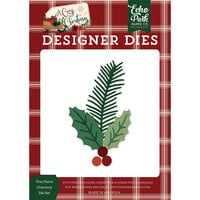 Echo Park - A Cozy Christmas Collection - Designer Dies - Tree Farm Greenery