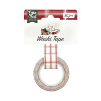 Echo Park - A Cozy Christmas Collection - Decorative Tape - Merry Christmas Plaid