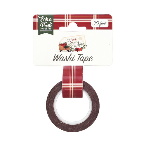 Echo Park - A Cozy Christmas Collection - Decorative Tape - Holiday Plaid