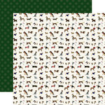 Echo Park - A Dog's Tail Collection - 12 x 12 Double Sided Paper - Furry Friends