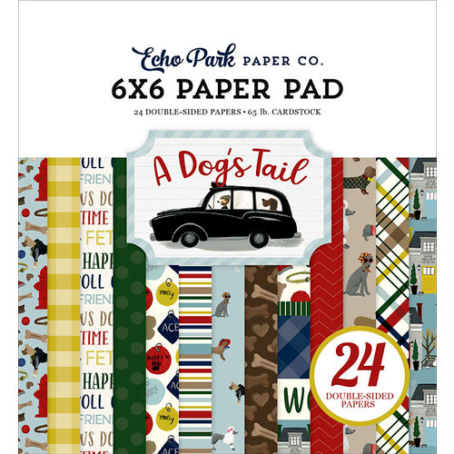 Echo Park - A Dog's Tail Collection - 6 x 6 Paper Pad