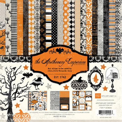 Echo Park - Apothecary Emporium Collection - Halloween - 12 x 12 Collection Kit