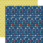 Echo Park - Anything Goes Collection - 12 x 12 Double Sided Paper - It Suits You