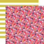 Echo Park - Anything Goes Collection - 12 x 12 Double Sided Paper - Multi Arrow