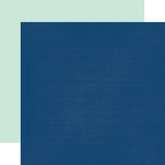Echo Park - Anything Goes Collection - 12 x 12 Double Sided Paper - Navy