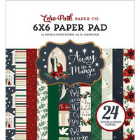 Echo Park - Christmas - Away In A Manger Collection - 6 x 6 Paper Pad