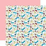 Echo Park - Alice in Wonderland Collection - 12 x 12 Double Sided Paper - Always Curious
