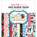 Echo Park - Alice in Wonderland Collection - 6 x 6 Paper Pad