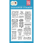Echo Park - Alice in Wonderland Collection - Clear Acrylic Stamps - You are Magical