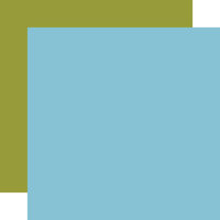 Echo Park - All Boy Collection - 12 x 12 Double Sided Paper - Light Blue
