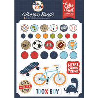 Echo Park - All Boy Collection - Self Adhesive Decorative Brads