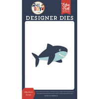 Echo Park - All Boy Collection - Decorative Dies - Silly Shark