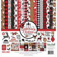 Echo Park - A Lumberjack Christmas Collection - 12 x 12 Collection Kit