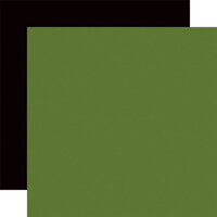 Echo Park - A Lumberjack Christmas Collection - 12 x 12 Double Sided Paper - Green