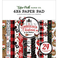 Echo Park - A Lumberjack Christmas Collection - 6 x 6 Paper Pad