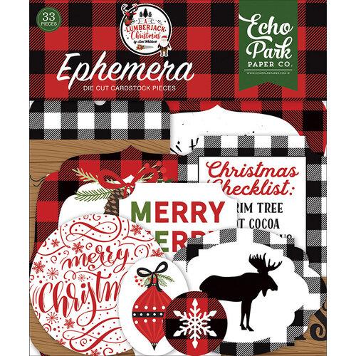 Echo Park - A Lumberjack Christmas Collection - Ephemera