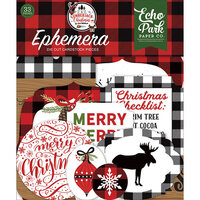 Echo Park - A Lumberjack Christmas Collection - Ephemera